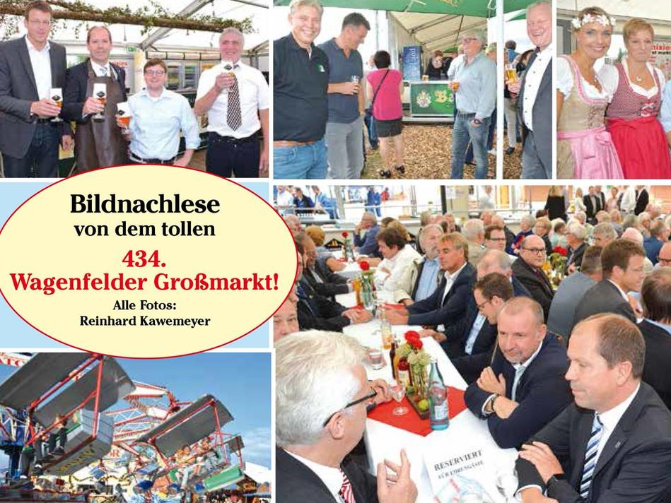 Wagenfelder Großmarkt 2018